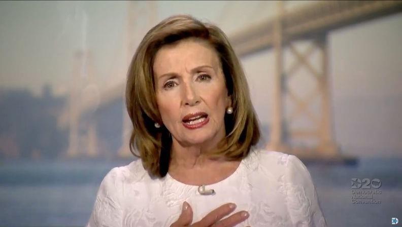 Chủ tịch Hạ viện Mỹ Nancy Pelosi.