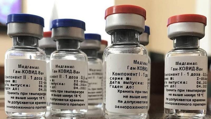 Vaccine ngừa Covid-19 của Nga.