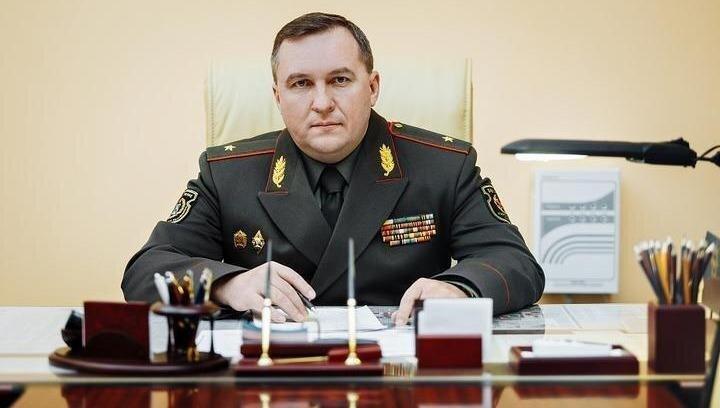 Bộ trưởng Quốc phòng Belarus Viktor Khrenin.