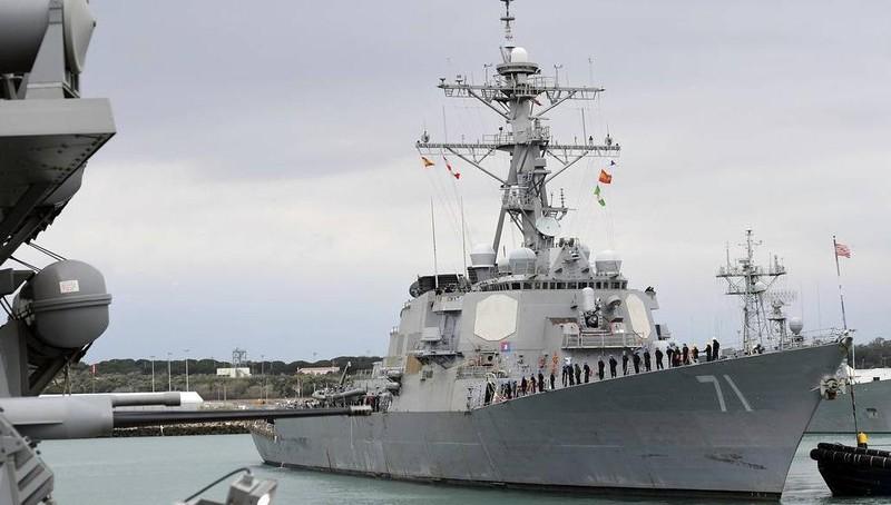 Nga theo sát hoạt động tàu khu trục tên lửa Mỹ ở Biển Baltic