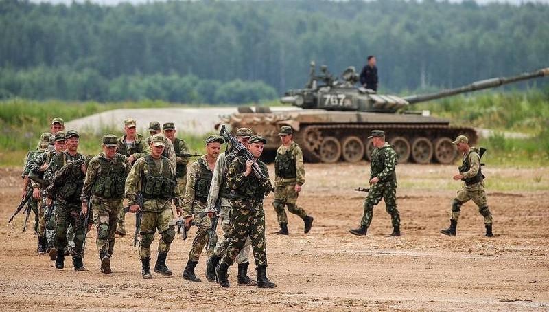 Lực lượng hùng hậu tham gia tập trận tại Nga