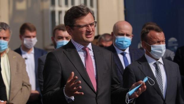 Bộ trưởng Ngoại giao Ukraine Dmytro Kuleba.