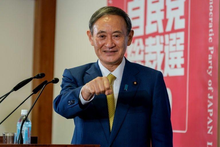 Thủ tướng mới của Nhật Bản Yoshihide Suga.