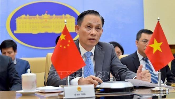 Thứ trưởng Bộ Ngoại giao Lê Hoài Trung. Ảnh: TTXVN