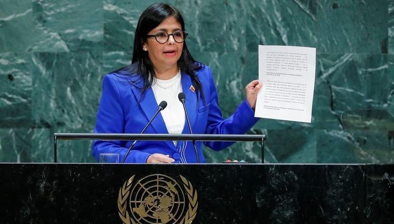 Phó Tổng thống Venezuela Delcy Rodriguez.