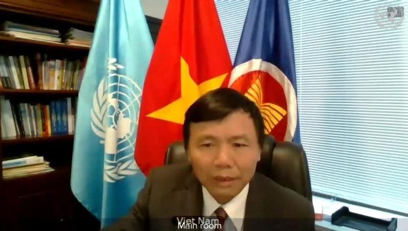 Đại sứ Đặng Đình Quý - Trưởng Phái đoàn Thường trực Việt Nam tại LHQ.
