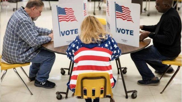 Mỹ sẽ tiến hành bầu tổng thống vào ngày 3/11. Ảnh minh họa
