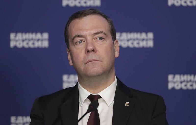 Ông Dmitry Medvedev.