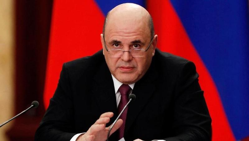 Thủ tướng Nga Mikhail Mishustin.