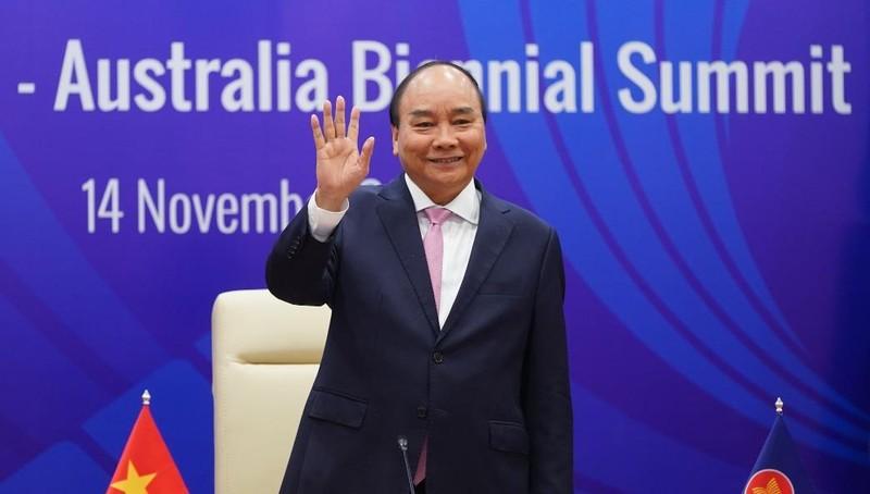 Thủ tướng Chính phủ Việt Nam Nguyễn Xuân Phúc chủ trì hội nghị.