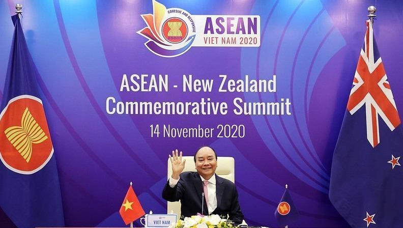 Thủ tướng chủ trì Hội nghị Cấp cao kỷ niệm 45 năm quan hệ ASEAN – New Zealand.