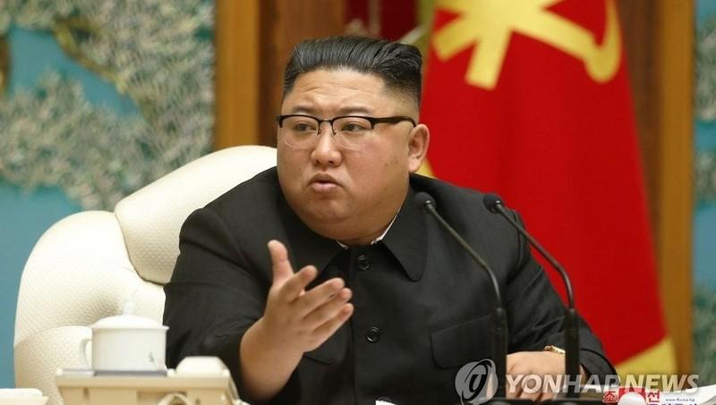Nhà lãnh đạo Triều Tiên chủ trì cuộc họp.