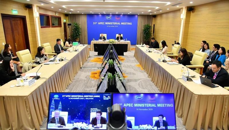 Phó Thủ tướng Phạm Bình Minh dự Hội nghị.