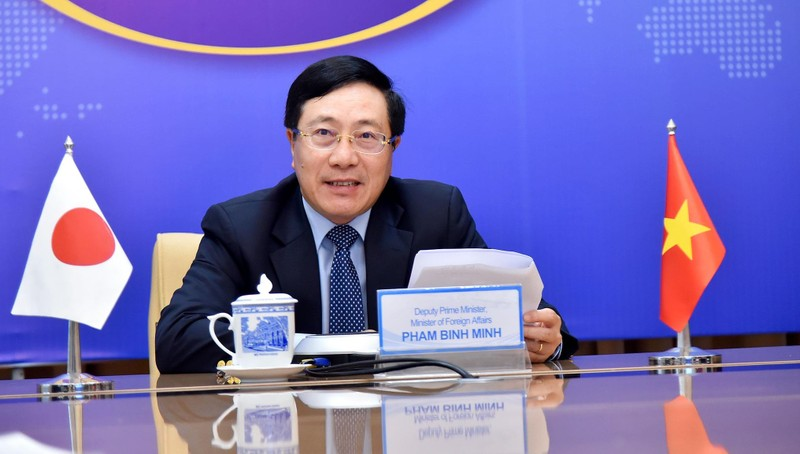 Phó Thủ tướng Phạm Bình Minh điện đàm với Thống đốc tỉnh Gunma.