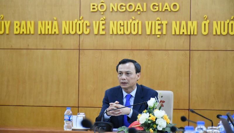 Phó Chủ nhiệm Ủy ban Nhà nước về NVNONN Lương Thanh Nghị.