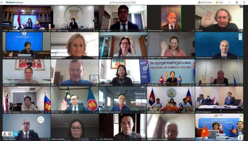 Các nước đánh giá cao vai trò Chủ tịch AICHR của Việt Nam