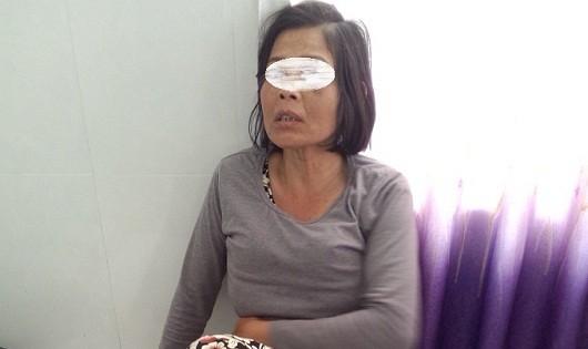 Nạn nhân Hà Thị Lợi.