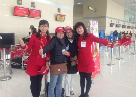VietJetAir thông báo khu vực làm thủ tục mới  tại sân bay Nội Bài