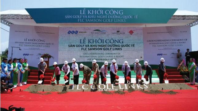 FLC Samson Golf Links & Resort là dự án đi đầu cho trào lưu bất động sản nghỉ dưỡng cao cấp khu vực phía Bắc