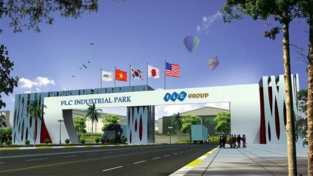 FLC đã trở thành chủ đầu tư của 2 dự án về khu công nghiệp tại Vĩnh Phúc, với tổng mức đầu tư hơn 3.400 tỷ đồng
