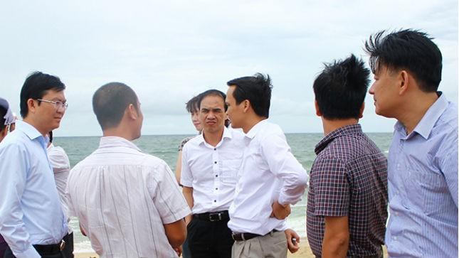 Ban lãnh đạo FLC tham quan thực địa dự án sân golf và khu nghỉ dưỡng tại Phú Quốc