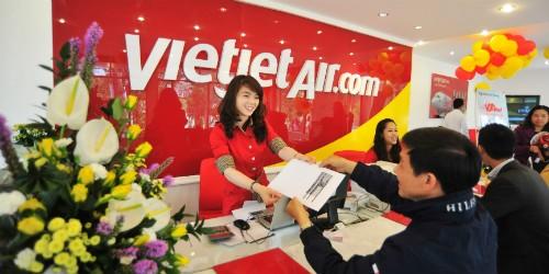 Điểm bán vé mới Vietjet khuyến mãi hấp dẫn
