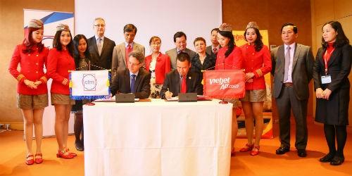 Vietjet và CFM ký hợp đồng bảo dưỡng động cơ máy bay trị giá 300 triệu USD
