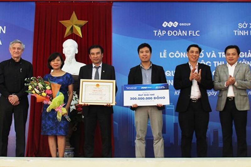 FLC trao giải thiết kế quy hoạch khu Trung tâm hành chính mới tỉnh Khánh Hòa