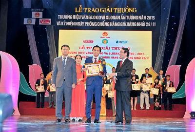 """Amway Việt Nam trong top 100 """"Thương hiệu Vàng năm 2015"""""""