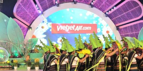 Vietjet đồng hành cùng cùng Festival Hoa Đà Lạt lần 6 năm 2015