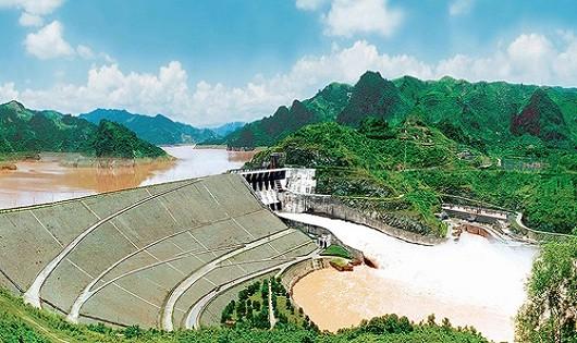 Thuỷ điện Đrang Phôk dự kiến xây dựng trên sông Sêrêpôk thuộc xã KrôngAna-Huyện Buôn Đôn-Tỉnh Đắc Lăk