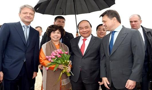 Thủ tướng và TH true MILK