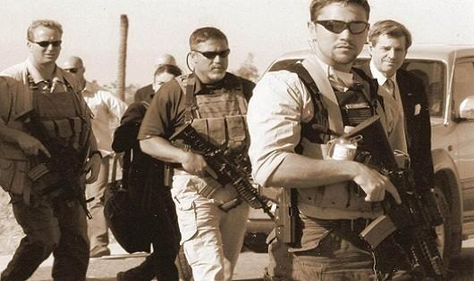 Lính đánh thuê tác chiến giấu mặt trong quân đội Mỹ
