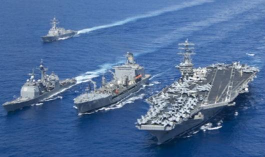 Lỗ hổng tai hại của những cụm tàu sân bay Mỹ
