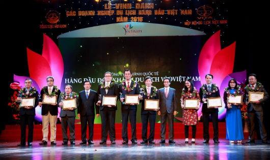 Vinh danh các doanh nghiệp du lịch hàng đầu Việt Nam 2016