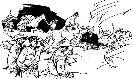 Hai bên đánh không phân thắng bại ( Hình minh họa)