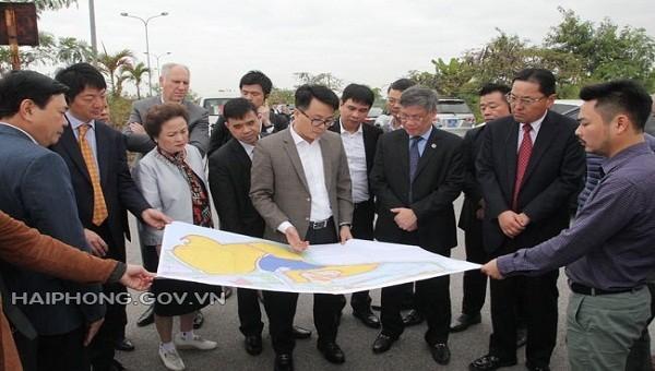 Tập đoàn Sumitomo sẽ đầu tư một số dự án tại Hải Phòng?