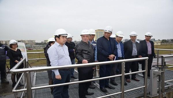 Hải Phòng đẩy nhanh tiến độ xây dựng nhà máy xử lý nước thải Vĩnh Niệm