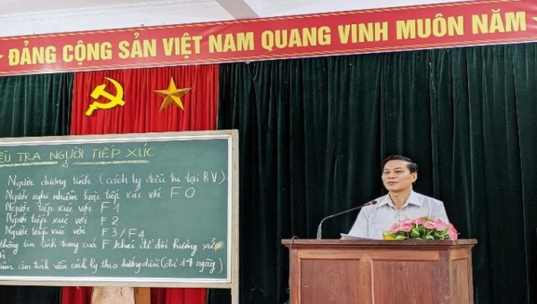 Chủ tịch UBND TP Hải Phòng phát biểu tại cuộc tuyên truyền