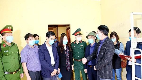 Phó Chủ tịch UBND TP Lê Khắc Nam kiểm tra Khu ký túc xá Trường Cao đẳng Hàng Hải I