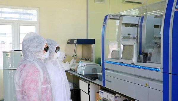 Máy xét nghiệm Covid-19 đã được lắp đặt tại Trung tâm y tế dự Phòng Hải Phòng