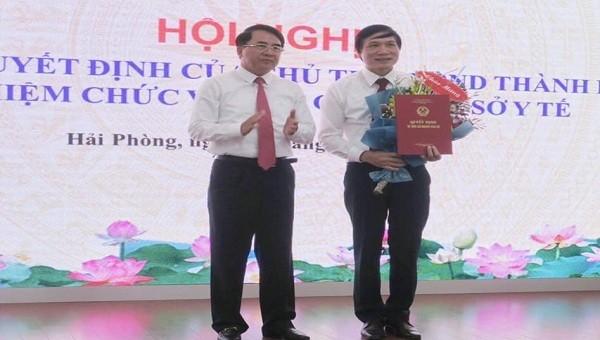 Giám đốc Bệnh viện Hữu nghị Việt - Tiệp làm Phó Giám đốc Sở Y tế TP Hải Phòng