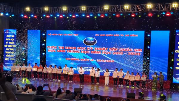 Kỳ thi KHKT cấp quốc gia năm 2019-2020 vừa được tổ chức tại TP Đà Nẵng