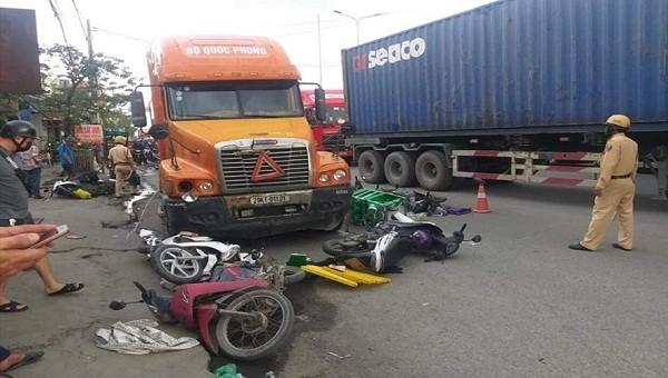 Hơn 30% số vụ tai nạn giao thông tại Hải Phòng liên quan đến xe container