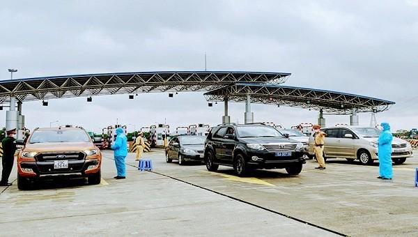 Hải Phòng tạm dừng các chốt kiểm soát dịch liên ngành