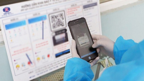 Hải Phòng tăng cường khai báo y tế bằng mã QR-code tại các điểm công cộng