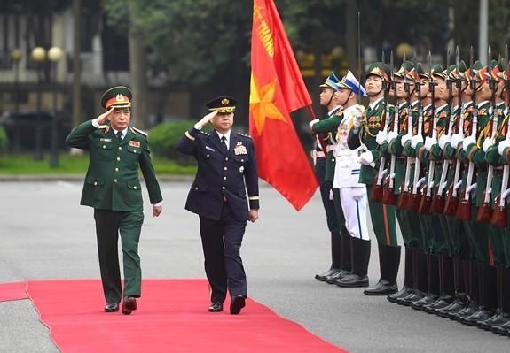 Hội đàm quốc phòng Việt Nam-Nhật Bản