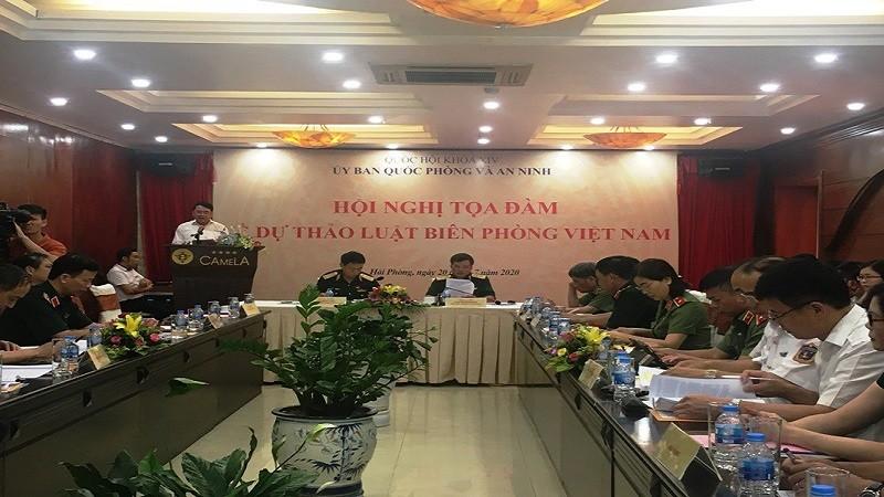 Góp ý vào dự thảo Luật Biên phòng Việt Nam: Làm rõ lực lượng thực thi nhiệm vụ biên phòng