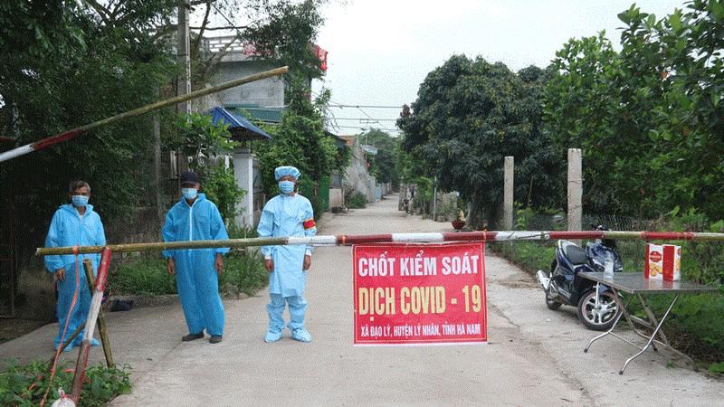 Hà Nam có thêm 2 trường hợp dương tính với SARS-CoV-2