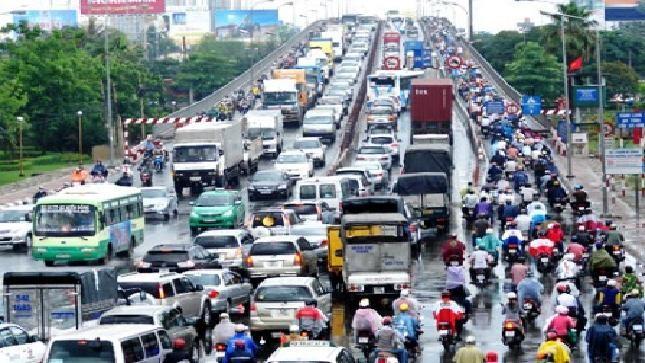 Đến 2020, đất cho giao thông Thủ đô sẽ đạt 16-26%